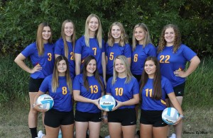 Wildcats Volleyball Varsity Team picture